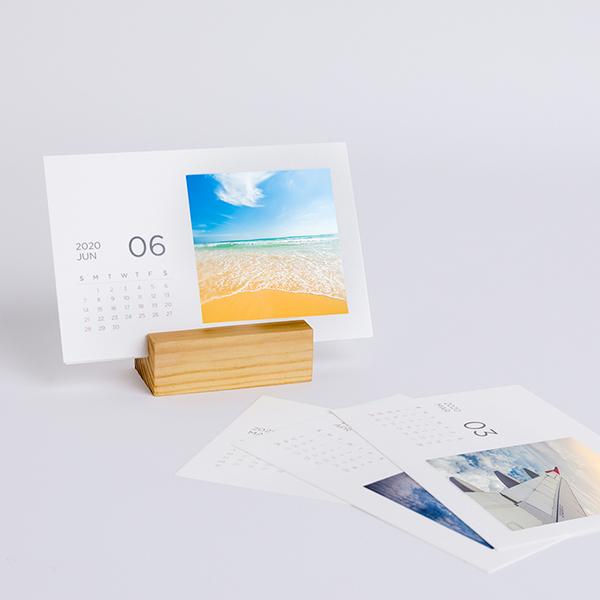 木製座桌曆1 1 2