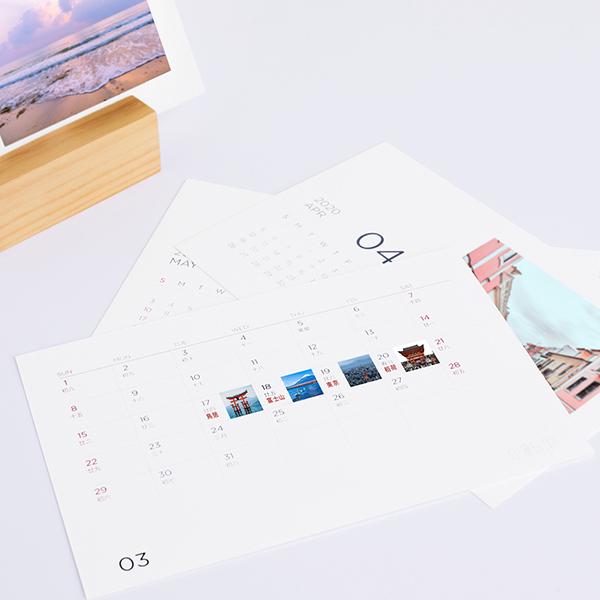 木製座桌曆1 1 3