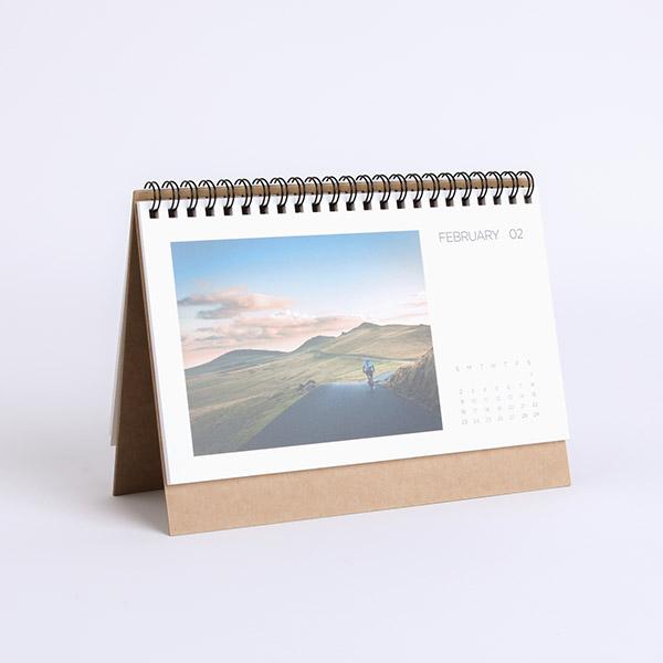 印簿玩 | 桌曆 中 橫式